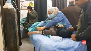VIDEO: Ratusan Warga Suriah Menderita Akibat Serangan Gas