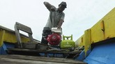 Sementara harga eceran tertinggi (HET) gas LPG 3 kg untuk di kota Palembang sebesar Rp15.650 (ANTARA FOTO/Fachrurrozi)