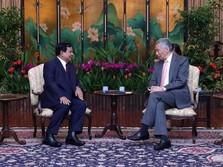 Bertemu PM Singapura, Prabowo Paparkan Prospek Ekonomi RI