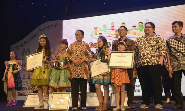 Grand Final Lomba Suara Anak Indonesia 2018