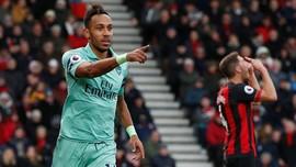 Statistik: Arsenal yang Terlalu Mengandalkan Aubameyang