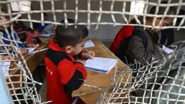FOTO: Gairah Bersekolah Bocah-bocah Raqqa Usai ISIS Tumbang
