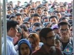 PDB Tumbuh Stagnan, Penggangguran RI Nambah 1,5 Juta/Tahun