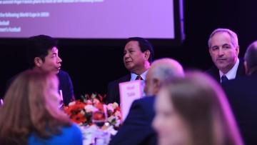 Dihadiri 500 CEO, Prabowo Jadi Pembicara Utama di Singapura