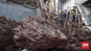 BPBD: 10 Wilayah di Jakarta Berpotensi Alami Pergerakan Tanah