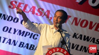 Jokowi soal Membangun Papua: Siapa Suruh Makan Infrastruktur?