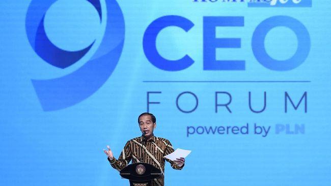 Jokowi Yakin Perang Dagang Dorong Industri Masuk ke RI