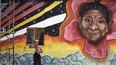 Secara geografis, San Carlos terletak di lokasi strategis di mana paramiliter dan kelompok gerilya memperebutkan daerah kontrol. (Photo by JOAQUIN SARMIENTO / AFP)