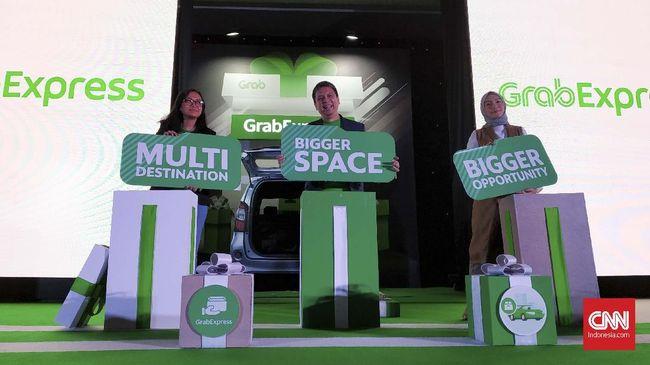 Fitur GrabExpress Car Sasar UMKM Kirim Logistik Besar