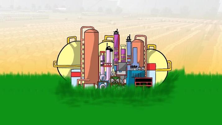 4 Kilang Pertamina Bakal Olah CPO Jadi Green BBM-LPG-Avtur