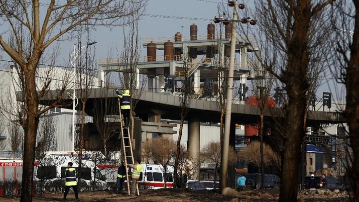 Pabrik Kimia Meledak di China, 23 Orang Tewas