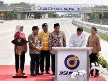 Tol Solo-Ngawi Beroperasi Penuh, Menhub Waspadai Kemacetan