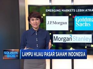 Lampu Hijau Pasar Saham Indonesia