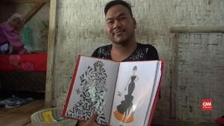 VIDEO: Pemuda Difabel Mampu Mendesain Busana Perempuan