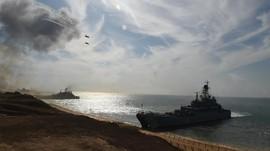 Rusia Tes Rudal Hipersonik saat Latihan Perang di Krimea