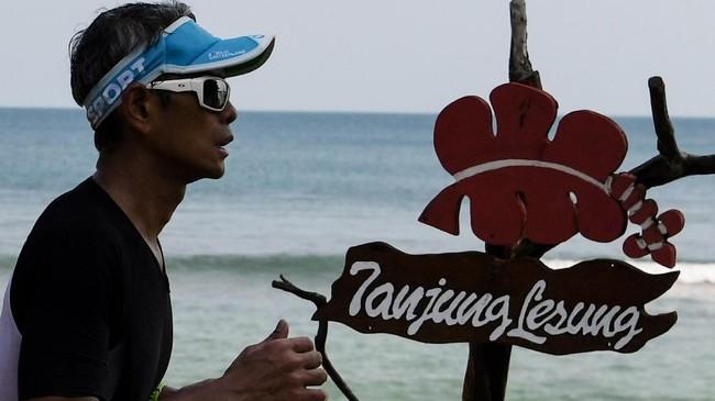 Rhino X Triathlon merupakan rangkai dari acara Festival Pesona Tanjung Lesung (FPTL).