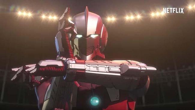 'Ultraman' Kembali ke Bumi Lawan Alien dalam Rupa Baru