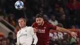 AS Roma menjamu Real Madrid pada pekan kelima Liga Champions 2018/2019 di Stadion Olimpico. (REUTERS/Tony Gentile)