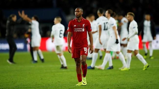 Liverpool kini wajib menang di laga terakhir lawan Napoli untuk bisa lolos ke babak 16 besar. (Reuters/Andrew Boyers)