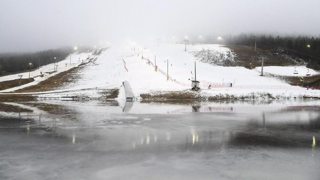 Salju Menipis Jadi Ancaman Wisata Musim Dingin