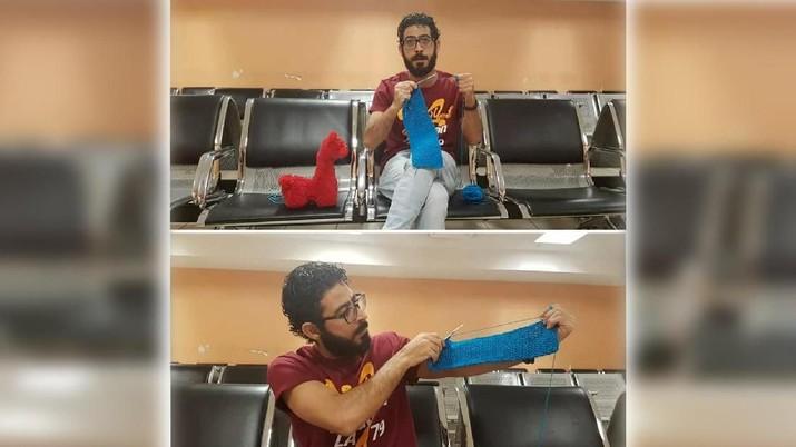 Cerita Hasan Al Kontar, 7 Bulan Tinggal di Bandara Malaysia