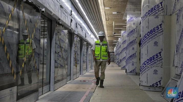 Siap-siap! MRT Jakarta Siap Beroperasi Pertengahan Maret 2019