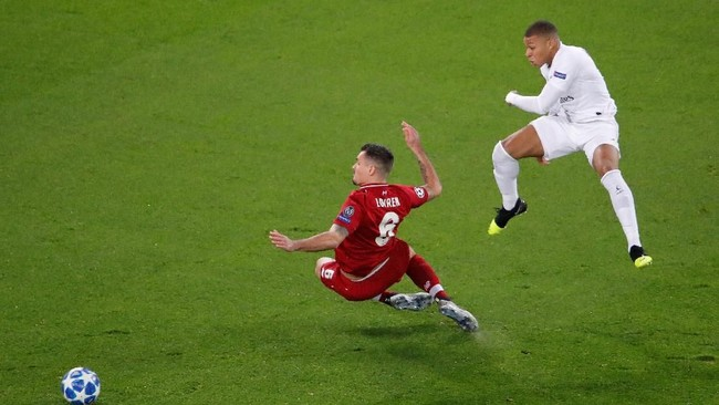 PSG menjamu Liverpool di Parc des Princes dalam lanjutan penyisihan grup Liga Champions. REUTERS/Charles Platiau)