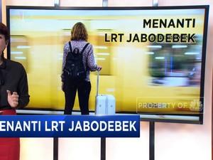 Menanti LRT Jabodebek