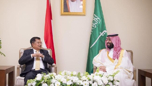 JK Bertemu Putra Mahkota Arab Bahas Kilang Minyak Cilacap