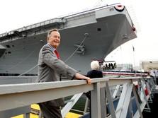 George HW Bush, Negarawan AS dengan Karier Politik Cemerlang