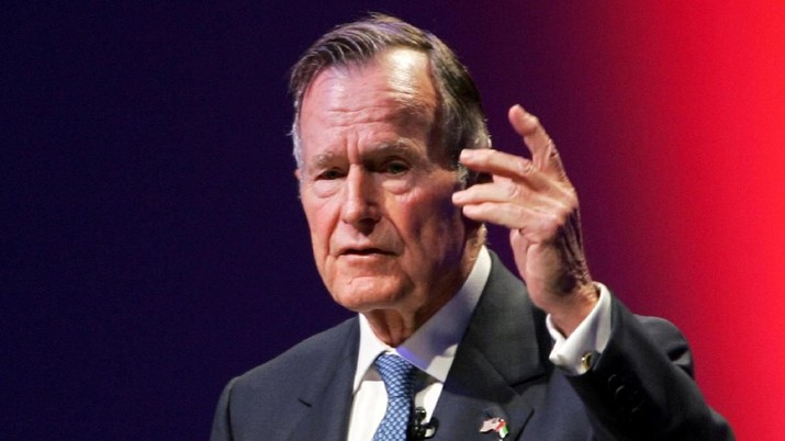 Image result for george hw bush meninggal dunia