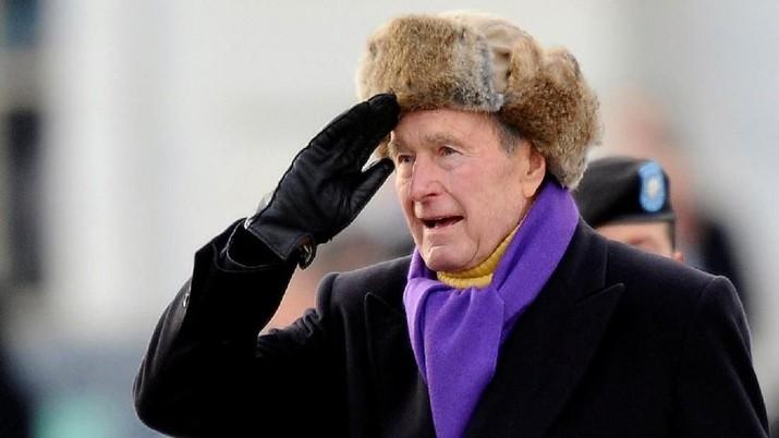 Mengenang Mantan Presiden AS George HW Bush