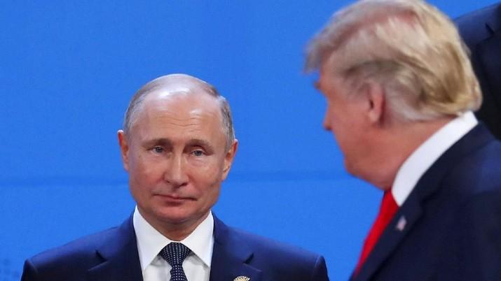 Putin Kirim Surat Tahun Baru untuk Trump, Apa Isinya?