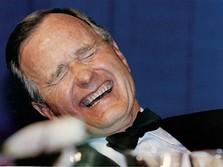 George HW Bush Meninggal, Obama sampai Bos Apple Berduka