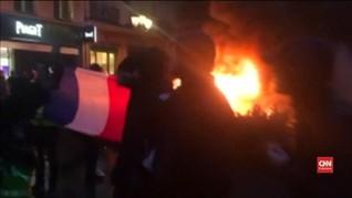 VIDEO: Paris Membara Akibat Penolakan Kenaikan Harga BBM