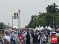Jelang Zuhur, Massa Reuni Aksi 212 Mulai Bubar dari Monas