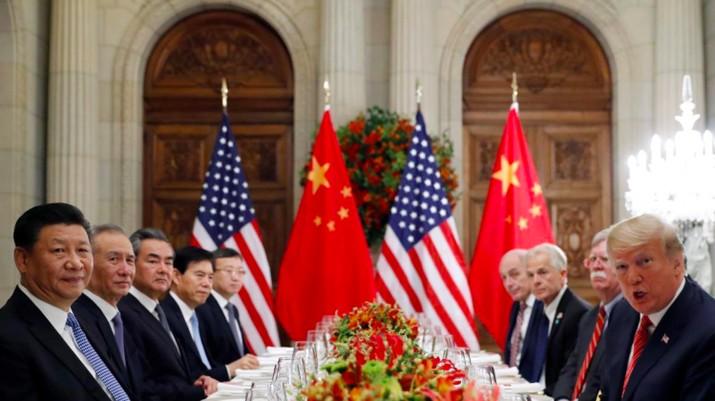 Aura Positif di Makan Malam Trump-Xi Jinping