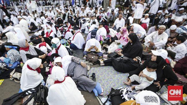Takbir dan Pekikan Merdeka Prabowo di Reuni Aksi 212