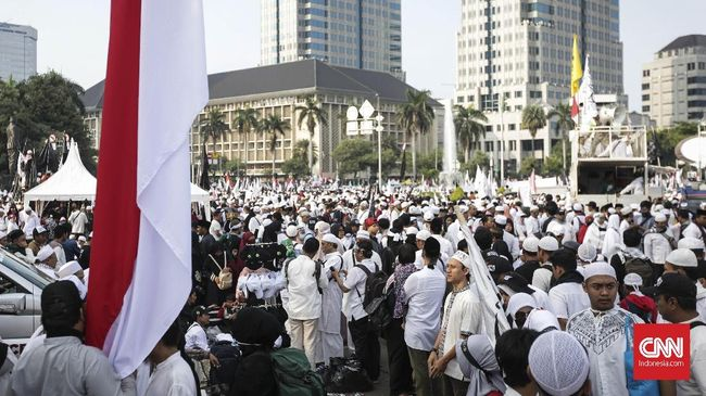 Al Khaththath Serukan Sumpah Setia untuk Rizieq di Aksi 212