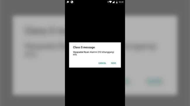 Pengguna Nomor Indosat Terima SMS Reuni 212 'Ditunggangi' HTI