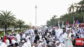 Peringatan Isra Mi'raj di Monas, Kereta ke Gambir Direkayasa
