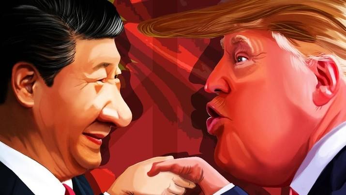 Trump semakin menjadi, mengancam China akan makin babak belur jika ia terpilih di periode kedua nanti
