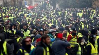 Redam Unjuk Rasa, Prancis Tunda Kenaikan Pajak BBM