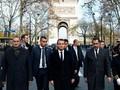 Macron Tinjau Lokasi Kerusuhan Akibat Demo 'Rompi Kuning'