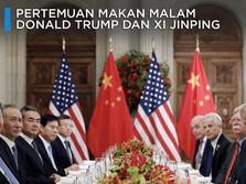 Ketika Donald Trump dan Xi Jinping Makan Malam