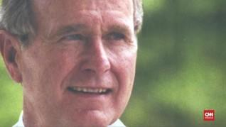 VIDEO: Texas Bersiap Gelar Pemakaman George HW Bush