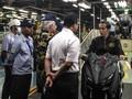 Naik Xmax, Jokowi Rayakan 1,5 Juta Ekspor Motor Yamaha