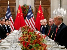 Kemesraan Trump dan Xi Jinping Saat Makan Malam di Sela G20