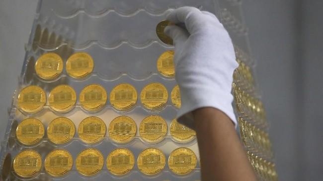 Pro Aurum sendiri merupakan salah satu pusat penjualan emas berlokasi di Munich, Jerman. (REUTERS/Michael Dalder)