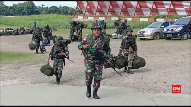 Kubu Prabowo Minta TNI Jaga Proyek Infrastruktur di Papua
